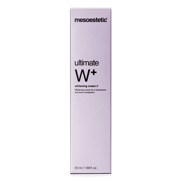 mesoestetic ultimate W+  whitening cream 50 ml