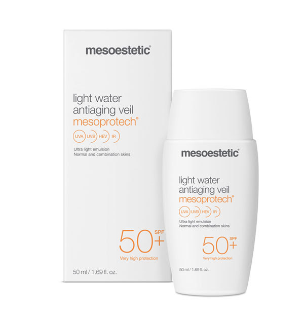 mesoestetic Mesoprotech light water veil 50+ sun protection 50 ml